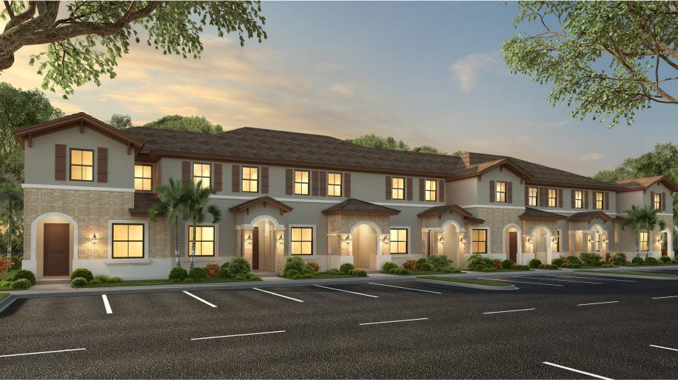 Ready To Build Home In AquaBella - The Harbor Collection Community