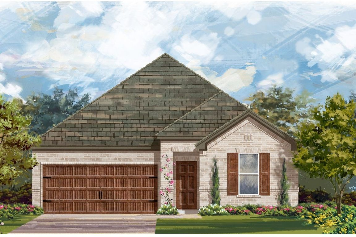 Ready To Build Home In Piney Creek Bend Community
