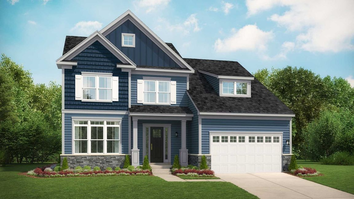 Ready To Build Home In Woodhall Community