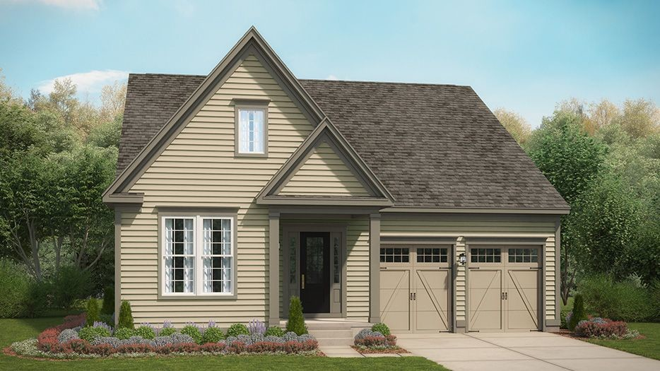 Ready To Build Home In 12 Oaks Community