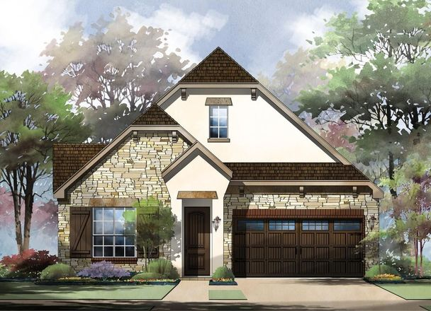 Ready To Build Home In Amorosa at Cibolo Canyons Community