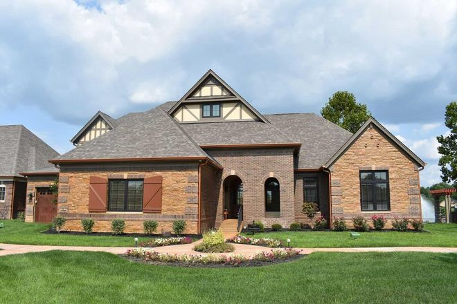 Ready To Build Home In Waterfront of West Clay Community