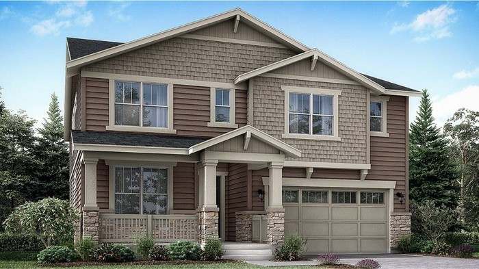 Ready To Build Home In Willow Bend - The Monarch Collection Community
