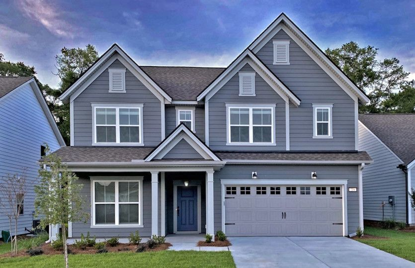 Ready To Build Home In RiverLights Community