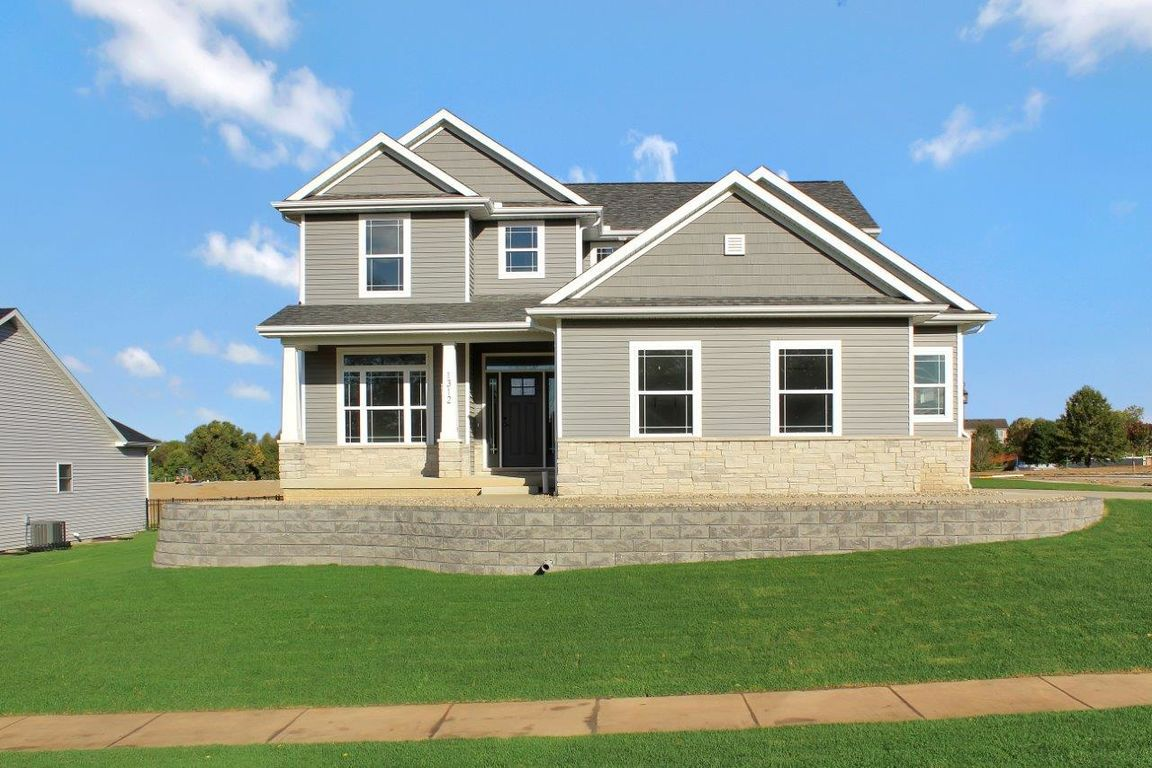 Ready To Build Home In Hunters Ridge Community