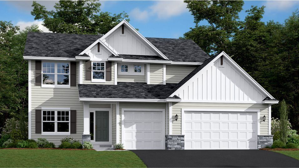 Ready To Build Home In Meadow Ridge Community