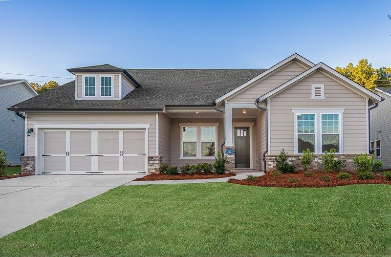 Ready To Build Home In Heritage at Towne Lake Community