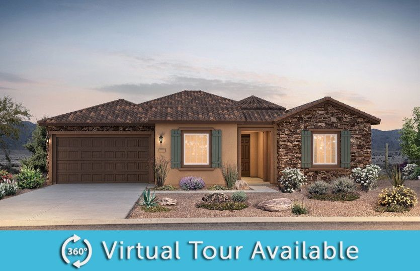 Ready To Build Home In Sun City Anthem at Merrill Ranch Community