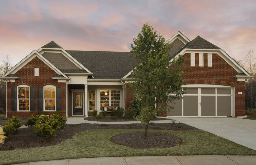 Ready To Build Home In Sun City Peachtree Community