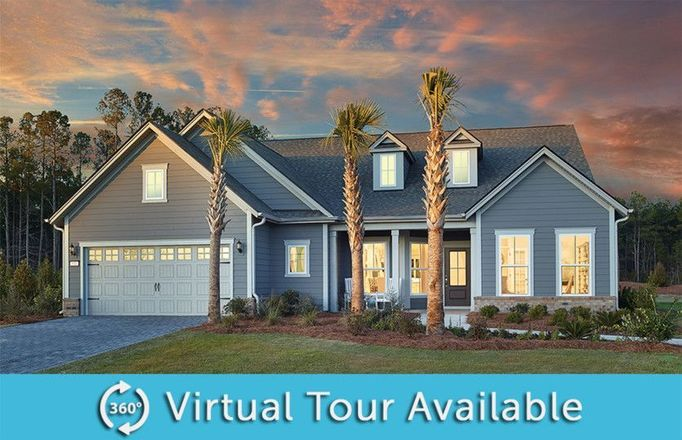 Ready To Build Home In Del Webb at Grande Dunes Myrtle Beach Community