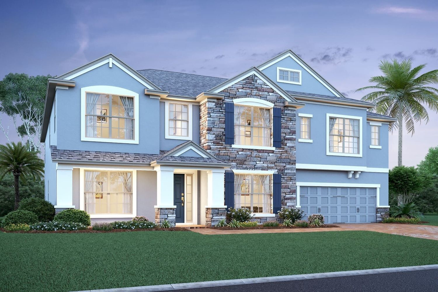 Ready To Build Home In Hideaway Cove Community