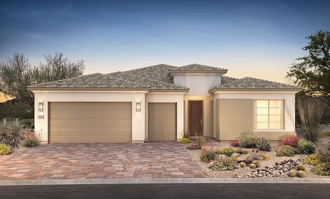 Ready To Build Home In Trilogy at The Polo Club Community