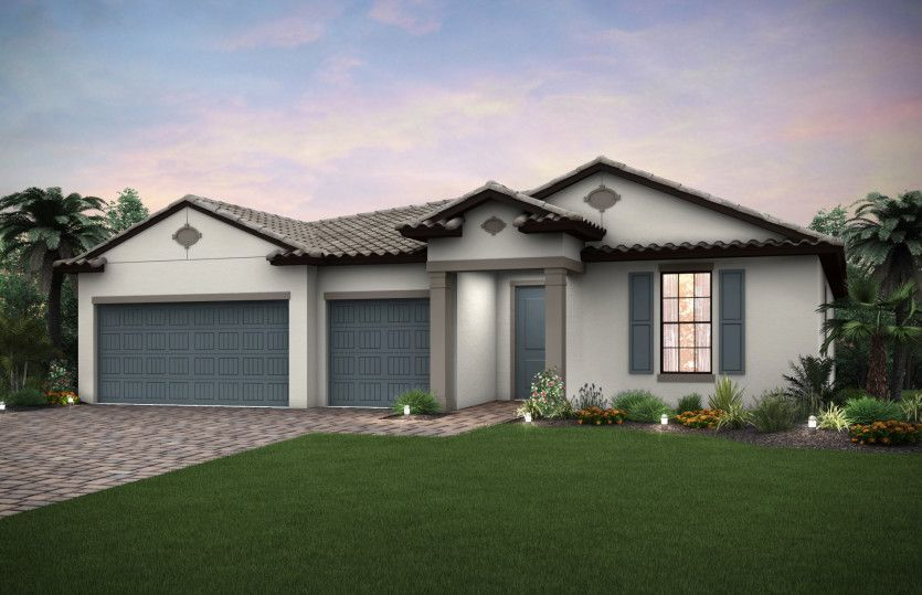 Ready To Build Home In River Hall Country Club Community