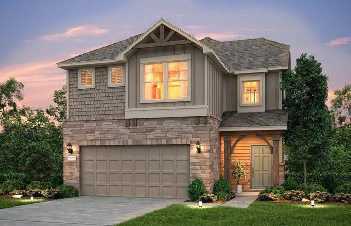 Ready To Build Home In Summerlyn At Spring Branch Community