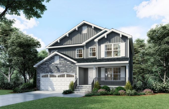 Ready To Build Home In Castleton Community