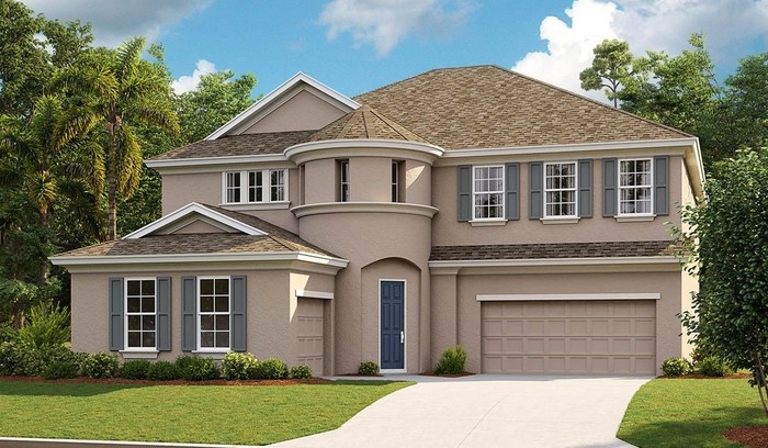 Ready To Build Home In Waterset Community