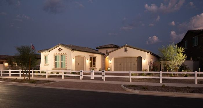 Ready To Build Home In Elegance at Eastmark Community