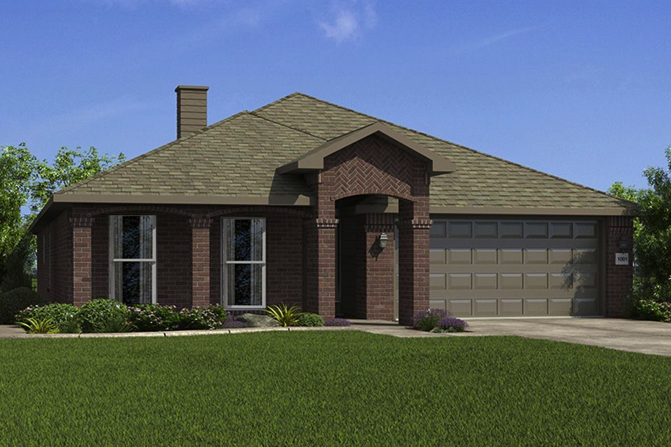 Ready To Build Home In Woodward Hills Community