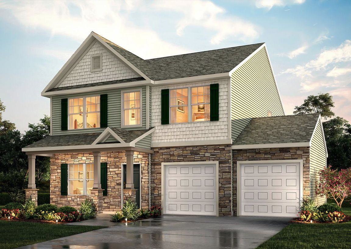 Ready To Build Home In Brentwood Community