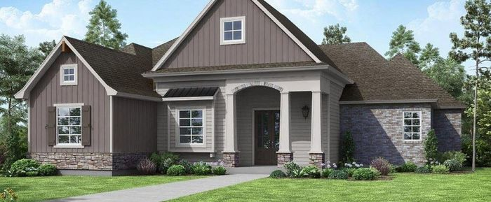 Ready To Build Home In Audubon Trace of Robert Community