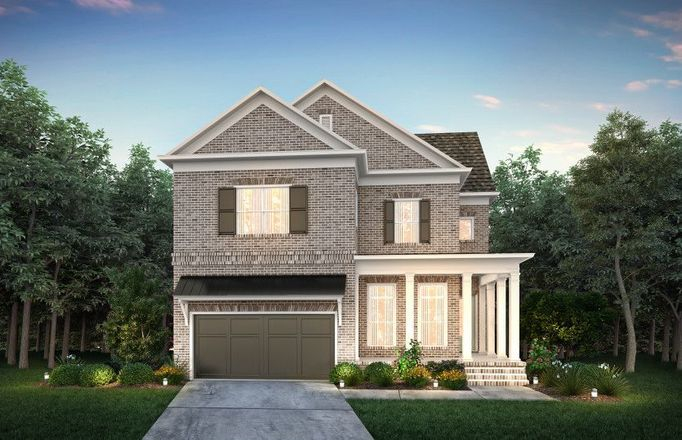 Ready To Build Home In Woodland Preserve Community