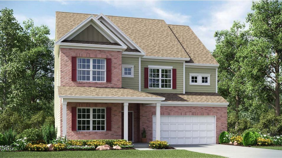 Ready To Build Home In Gambill Forest - Enclave Community