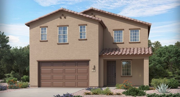 Ready To Build Home In Vistas at Rincon Knolls 35s Collection Community