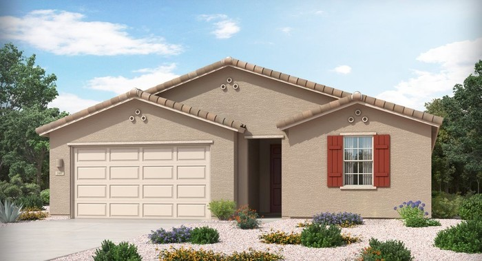 Ready To Build Home In Vistas at Rincon Knolls 40s Collection Community