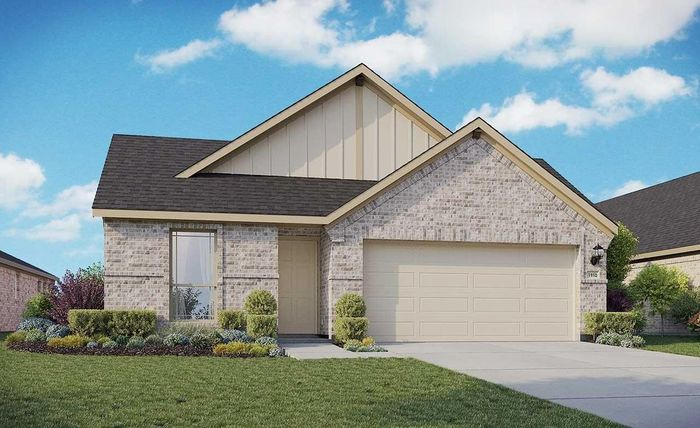 Ready To Build Home In Meyer Ranch Community