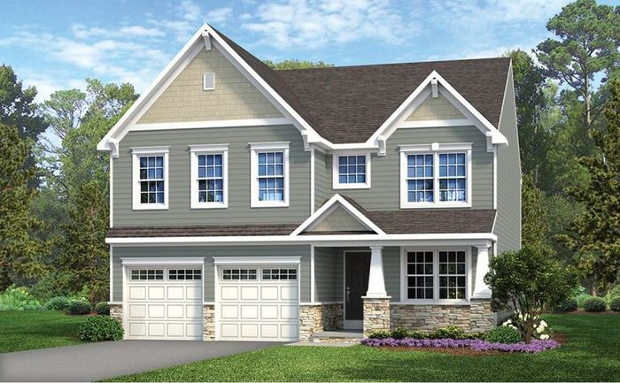 Ready To Build Home In Overlook at Honeygo Community