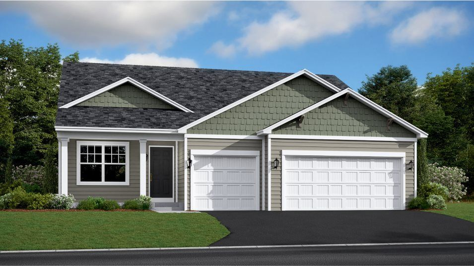 Ready To Build Home In Highland Ridge Community