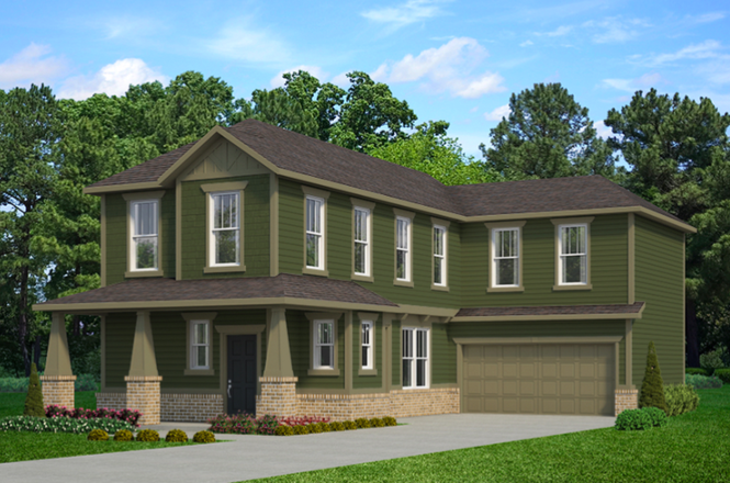 Ready To Build Home In The Grove at Legacy Community