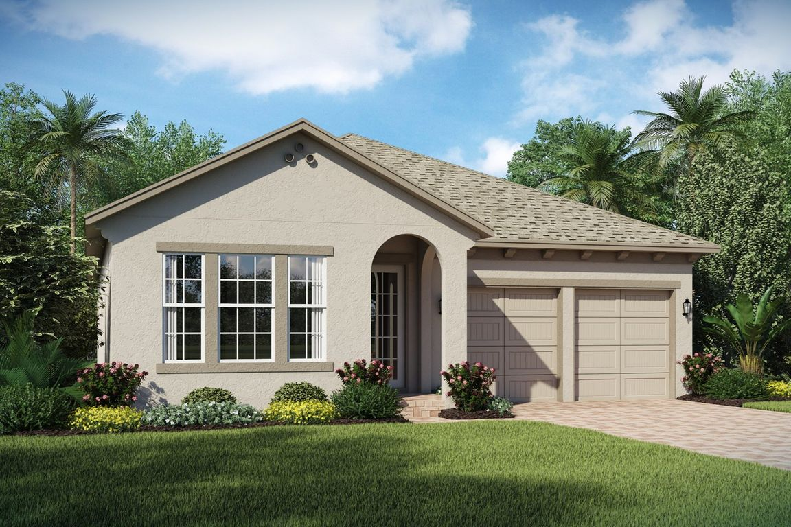 Ready To Build Home In Winding Bay Community