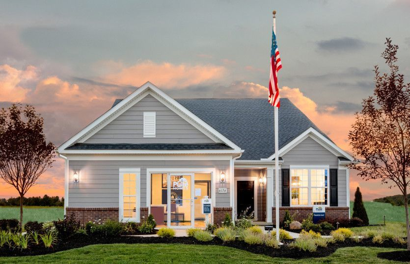Ready To Build Home In Hyatts Crossing Community