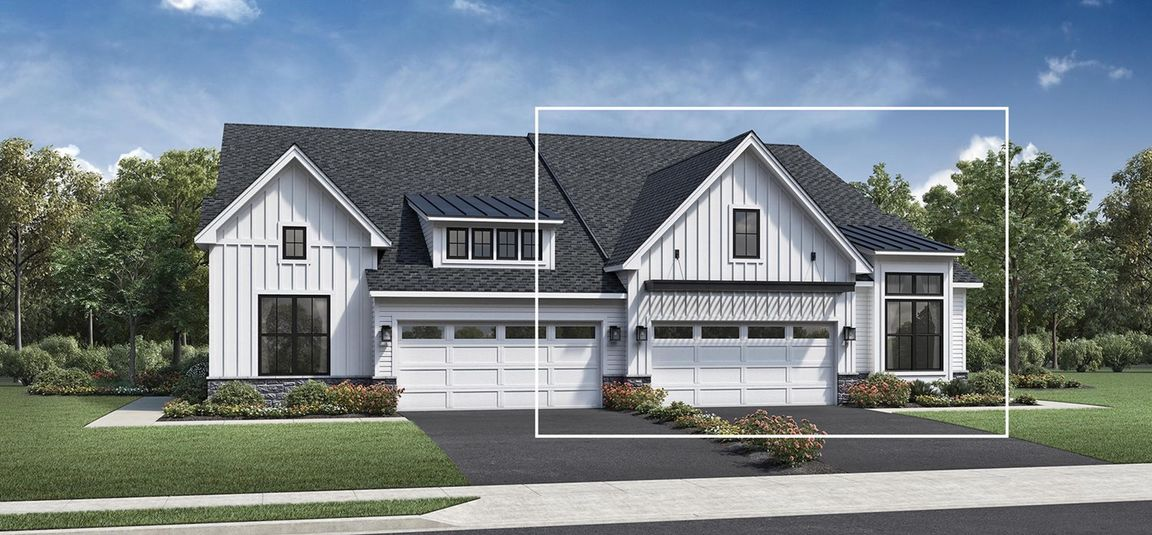 Ready To Build Home In Regency at Creekside Meadows - Carriages Collection Community
