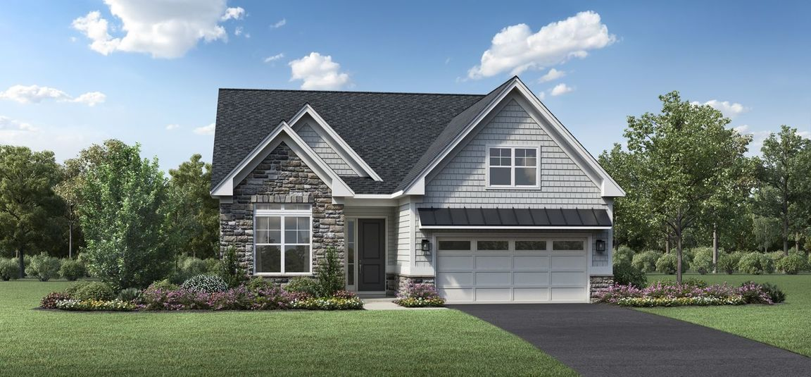Ready To Build Home In Regency at Creekside Meadows - Villas Collection Community