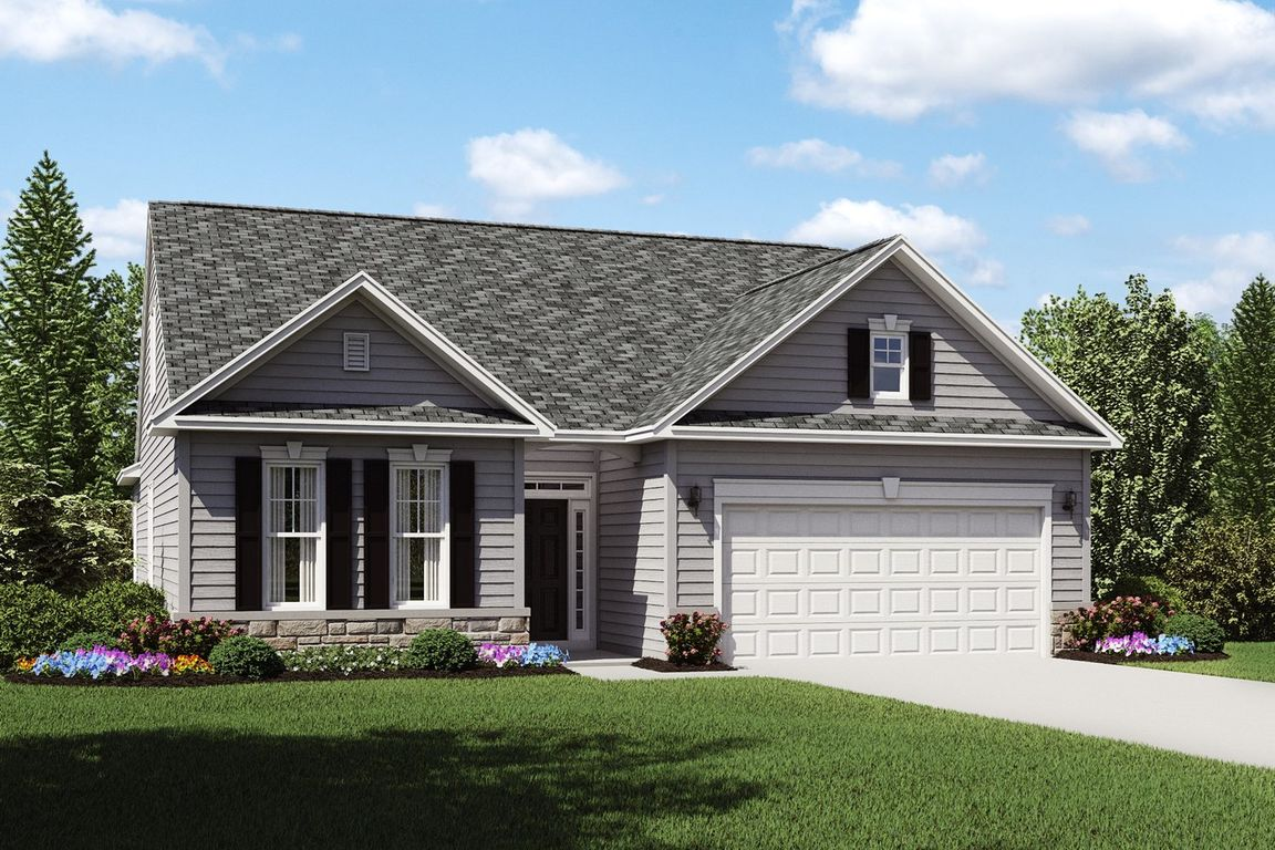 Ready To Build Home In K. Hovnanian's Four Seasons at Chestnut Ridge Community