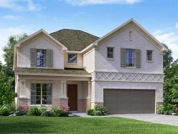 Ready To Build Home In Northaven - Manor Series Community