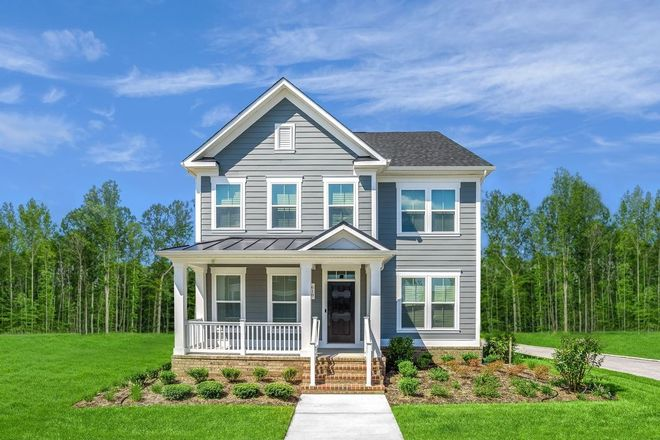 Ready To Build Home In Greenleigh Single Family Homes Community