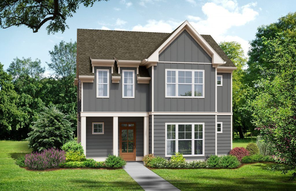 Ready To Build Home In Marvelle Community