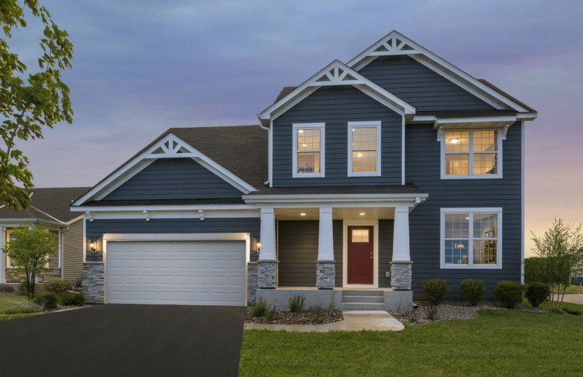 Ready To Build Home In Creek Hill Estates South Community