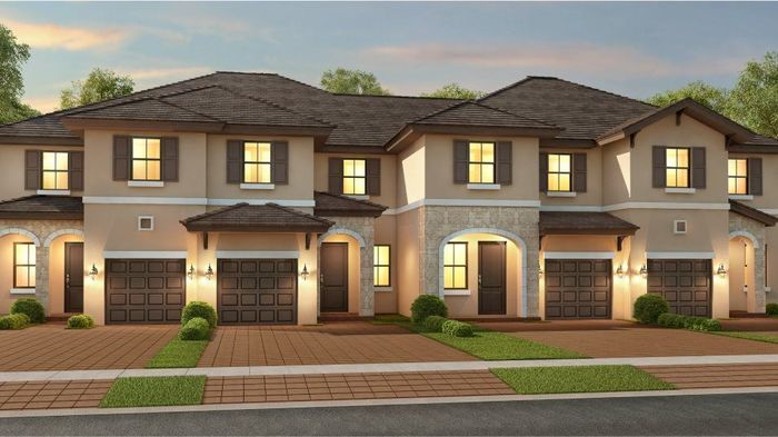 Ready To Build Home In AquaBella - The Blossom Collection Community