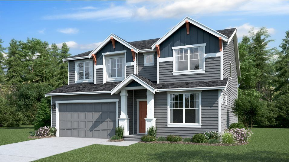 Ready To Build Home In Stewart Crossing Community