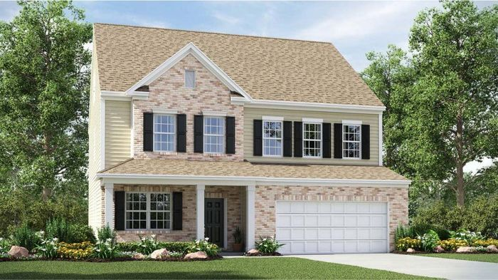 Ready To Build Home In Bethesda Oaks Community