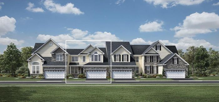 Ready To Build Home In Darlington Ridge at West Chester Community