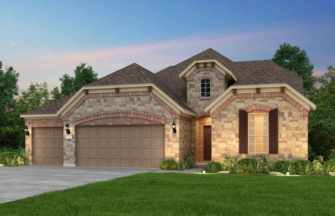 Ready To Build Home In Davis Ranch Community