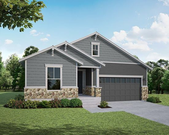 Ready To Build Home In The Enclave at Mariana Butte - Lakeside Series Community