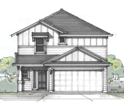 Ready To Build Home In Vistas of Austin Community