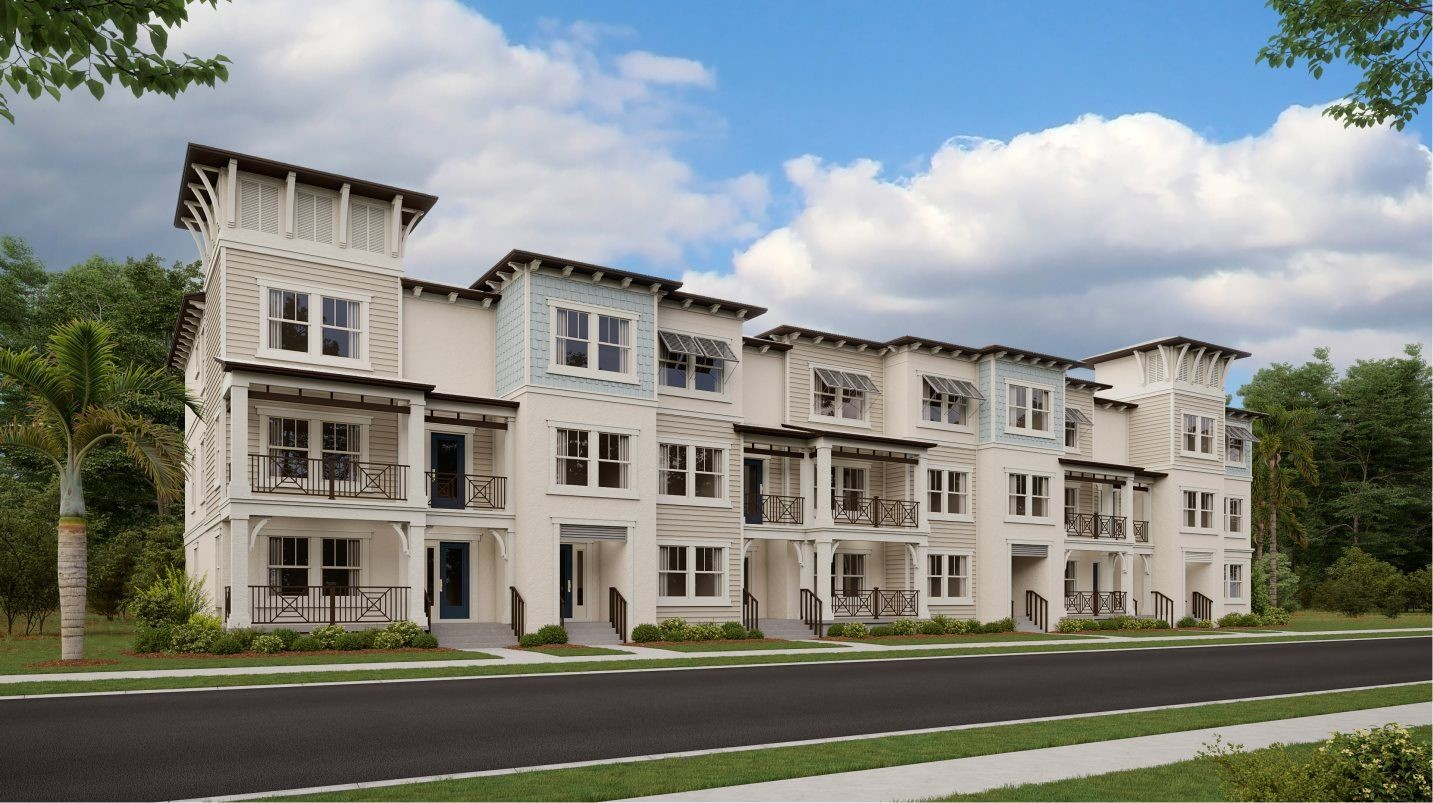 Ready To Build Home In Westshore Marina District - Inlet Shore Townhomes Community