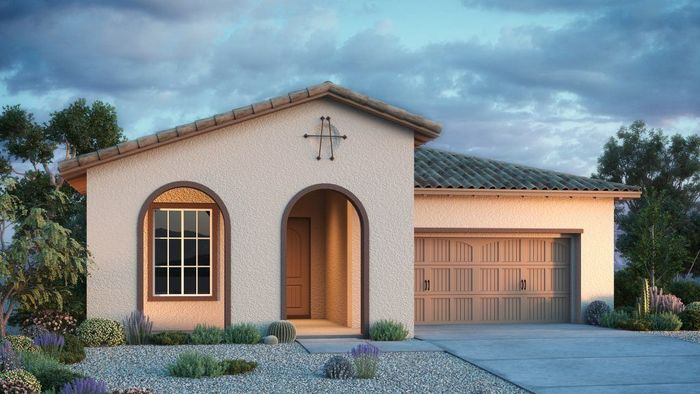 Ready To Build Home In Terravella Legacy Collection Community